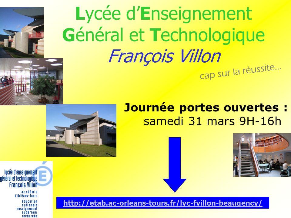 Lycée d'Enseignement Général et Technologique François Villon