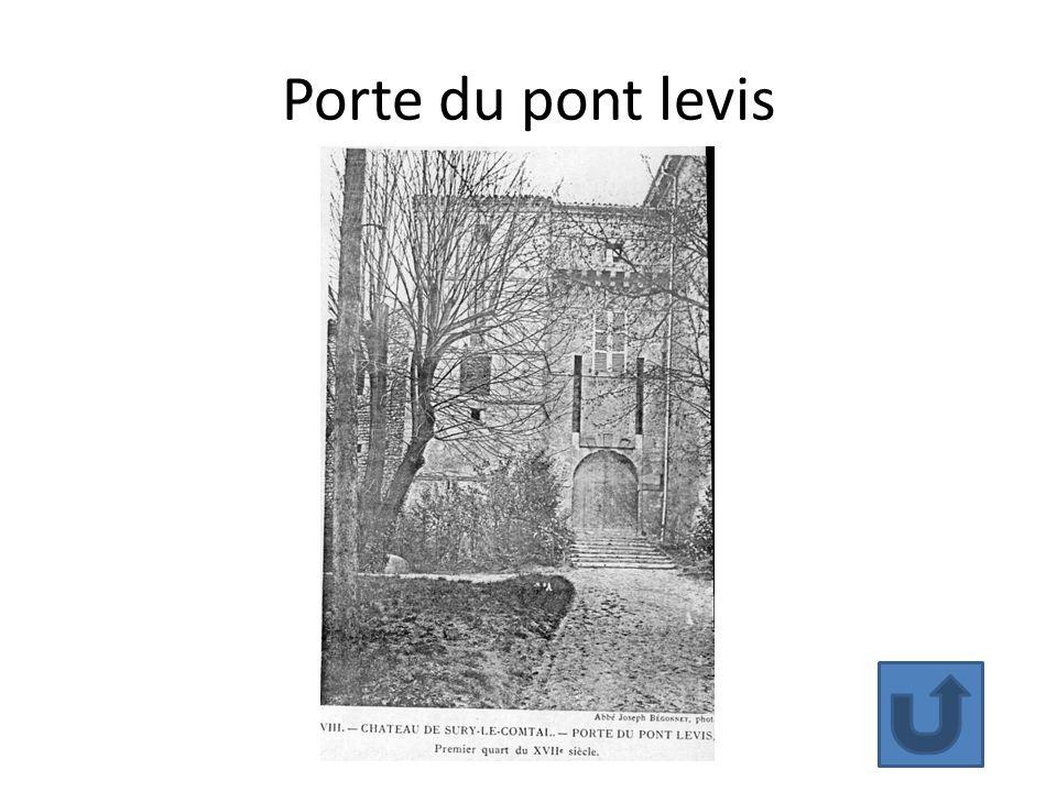 Porte du pont levis