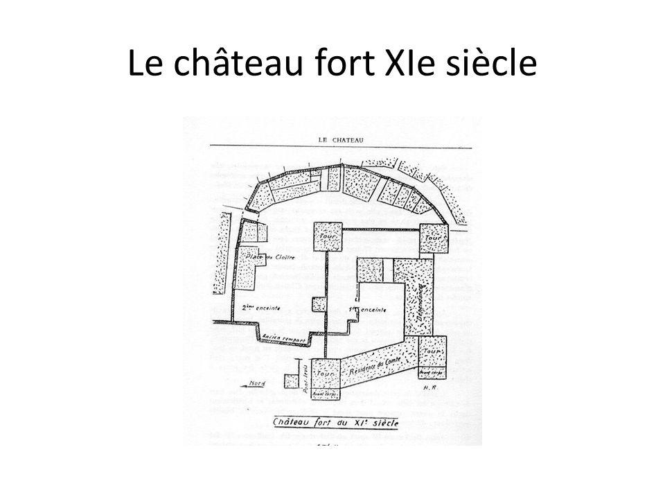 Le château fort XIe siècle