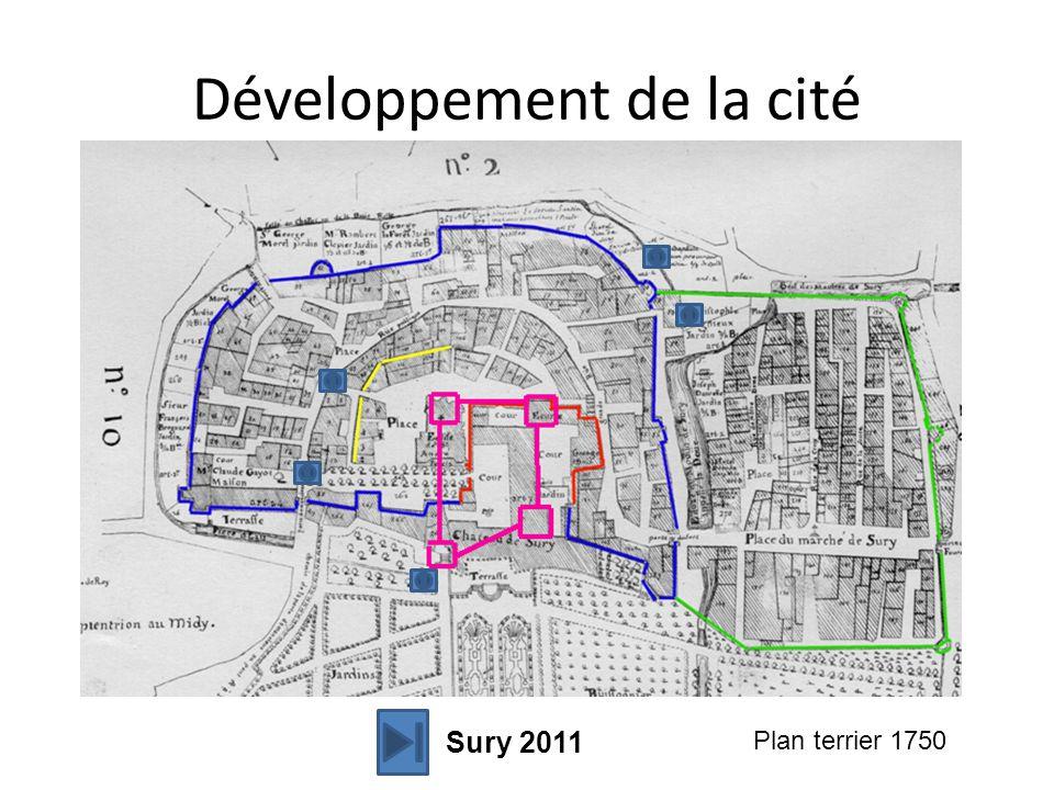 Développement de la cité