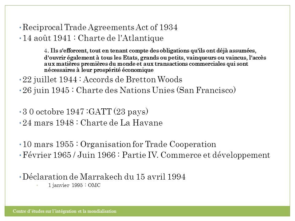 Reciprocal Trade Agreements Act of 1934