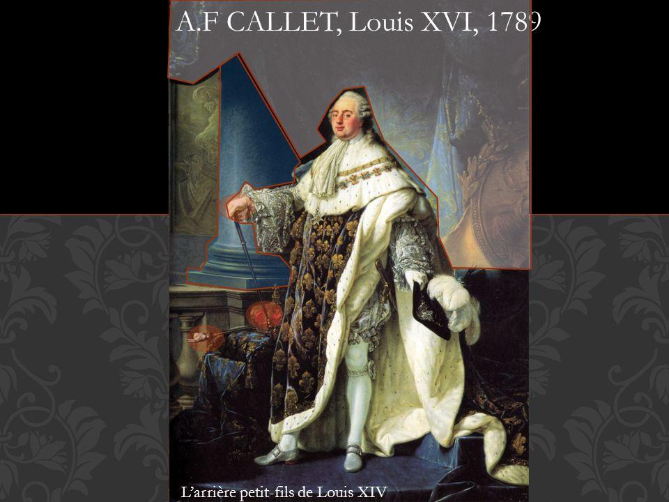 Portrait de Louis XIV A.F CALLET, Louis XVI, 1789