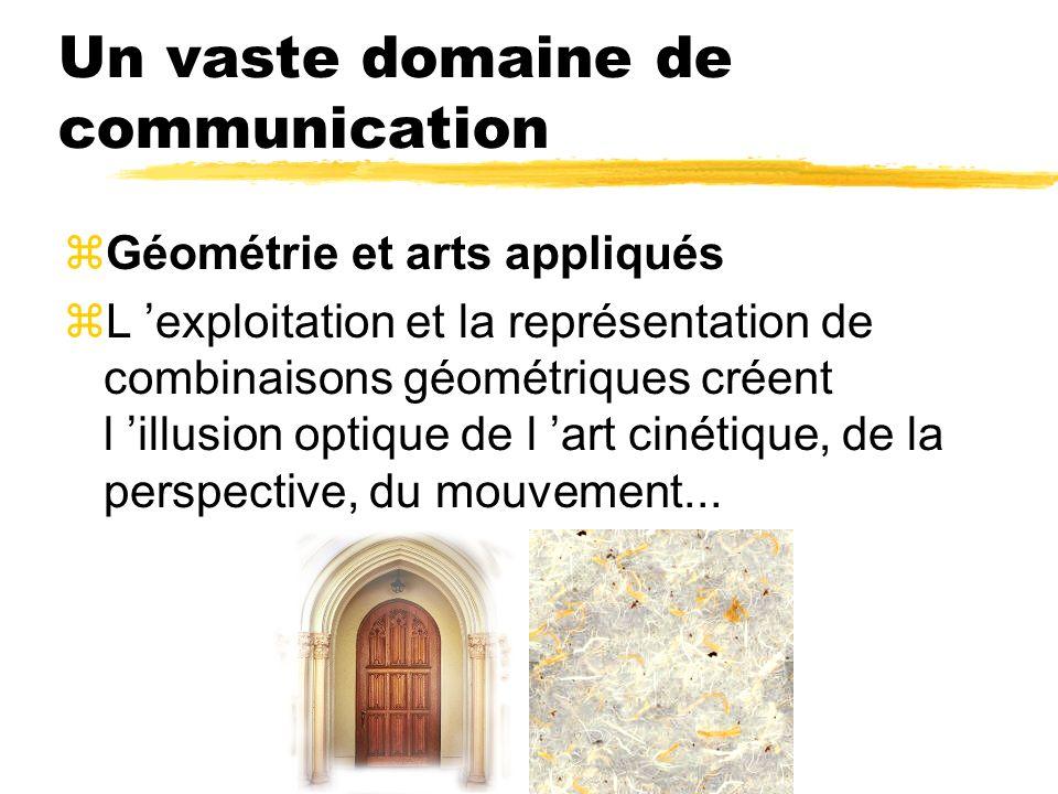 Un vaste domaine de communication
