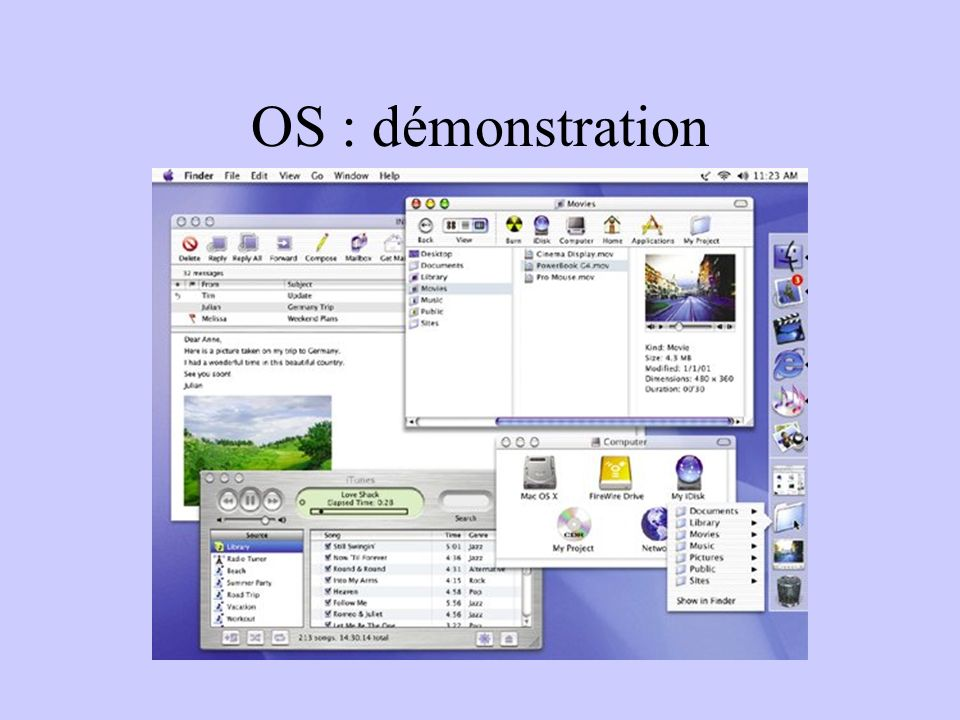 OS : démonstration