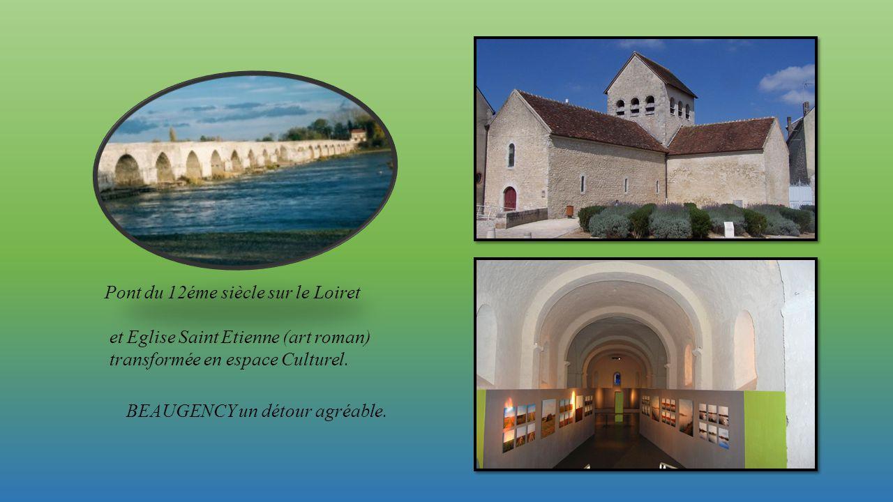 Pont du 12éme siècle sur le Loiret