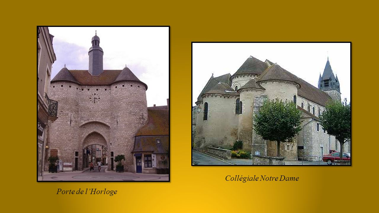 Collégiale Notre Dame Porte de l'Horloge