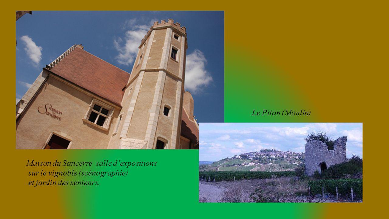 Le Piton (Moulin) Maison du Sancerre salle d'expositions.