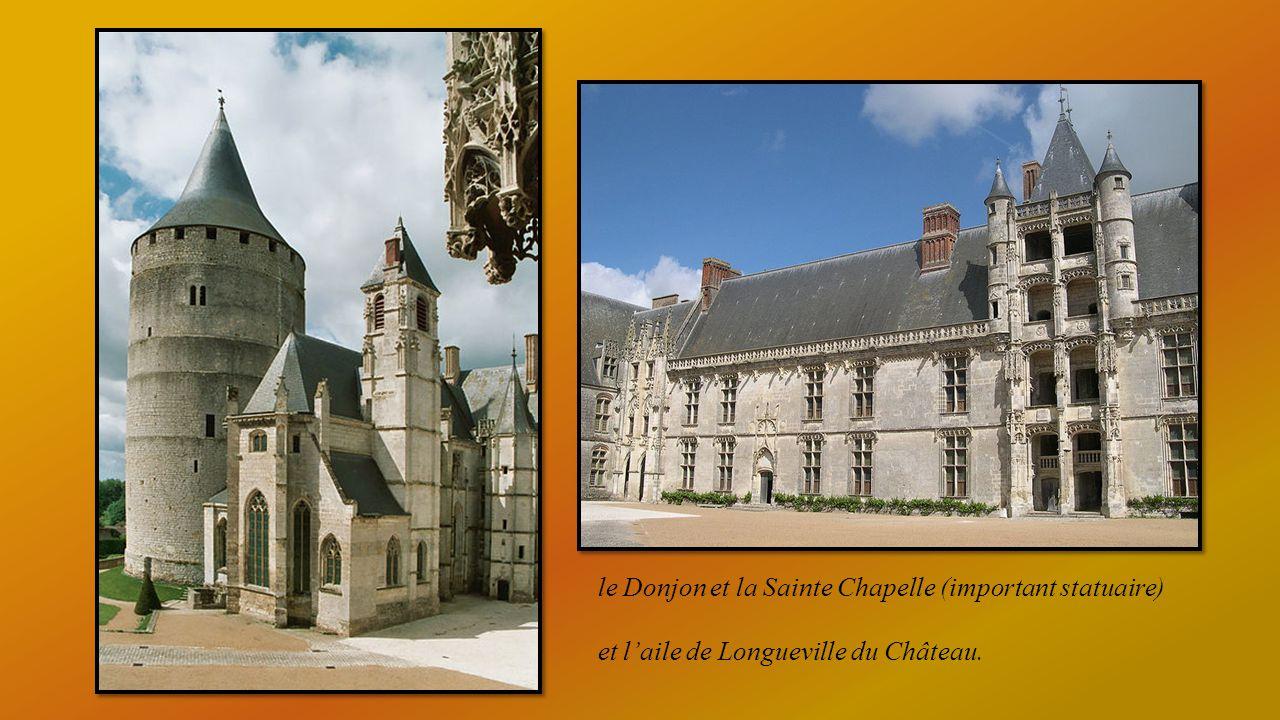 le Donjon et la Sainte Chapelle (important statuaire)