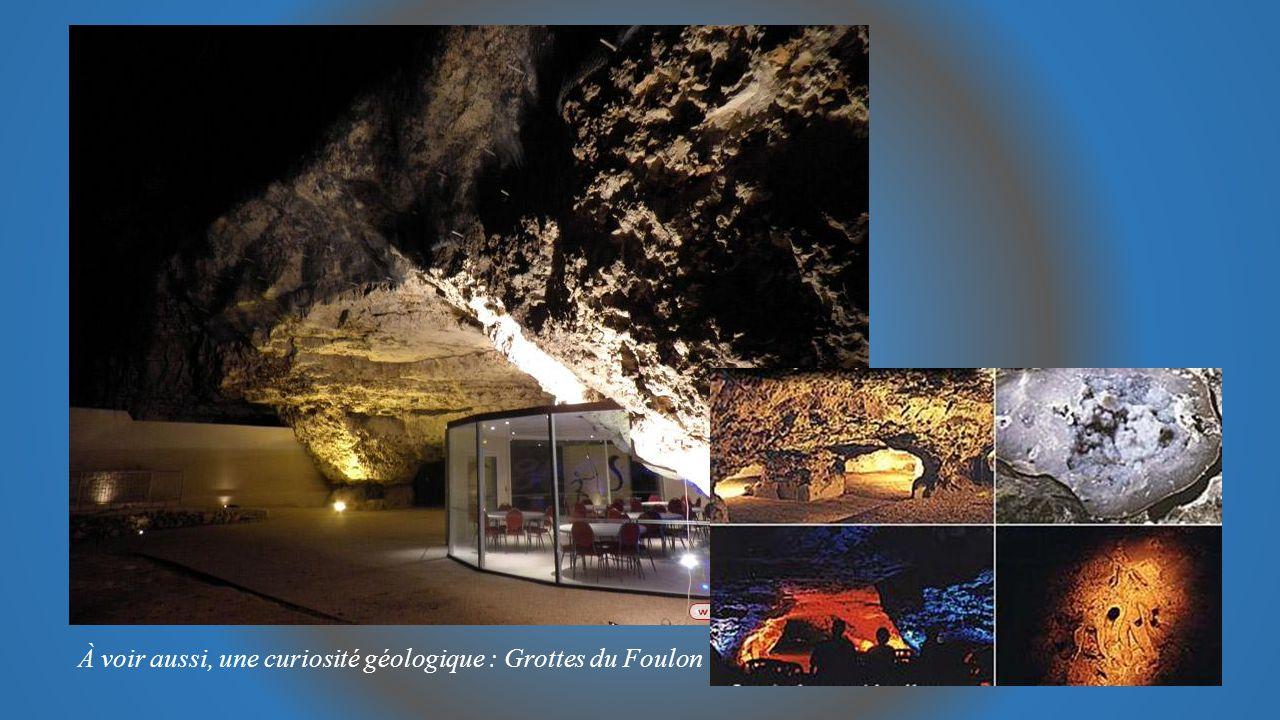 À voir aussi, une curiosité géologique : Grottes du Foulon