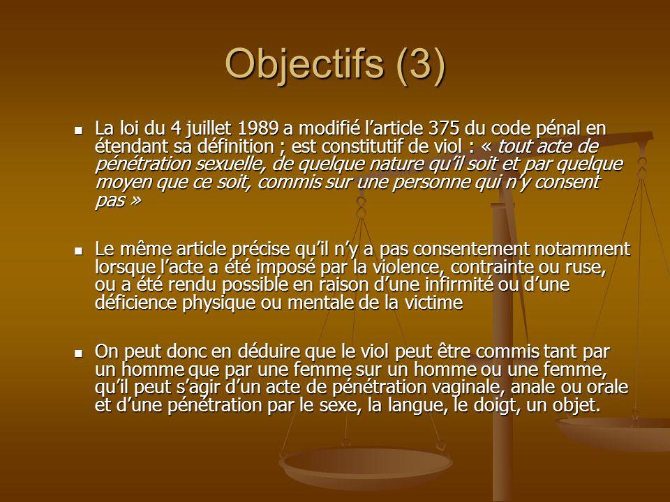 Objectifs (3)