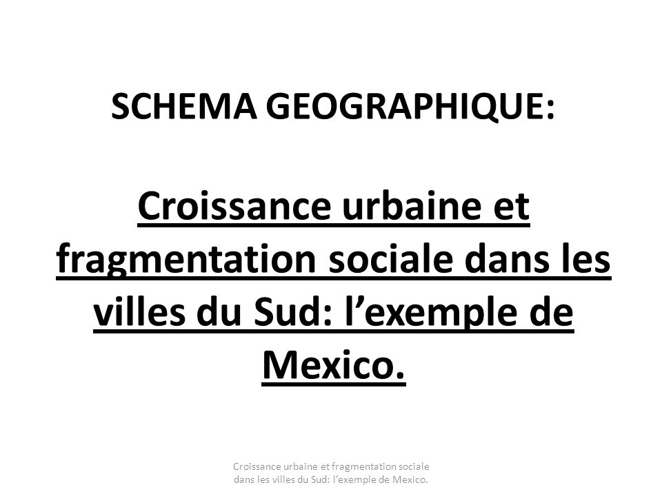 G4: Ville et développement durable
