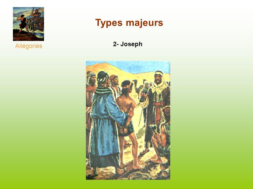 Allégories Types majeurs 2- Joseph