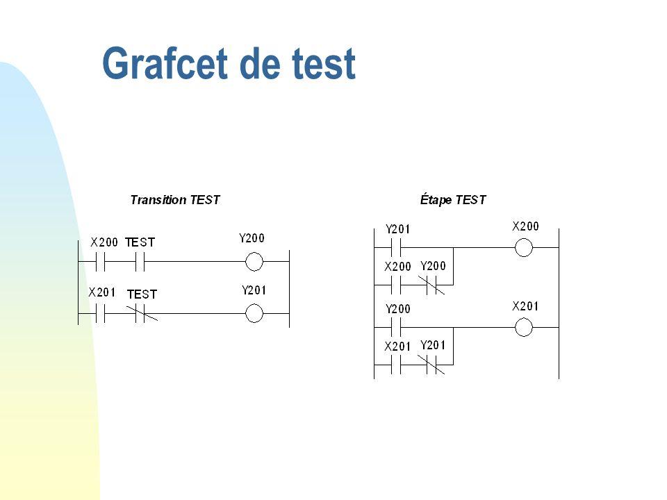 Grafcet de test