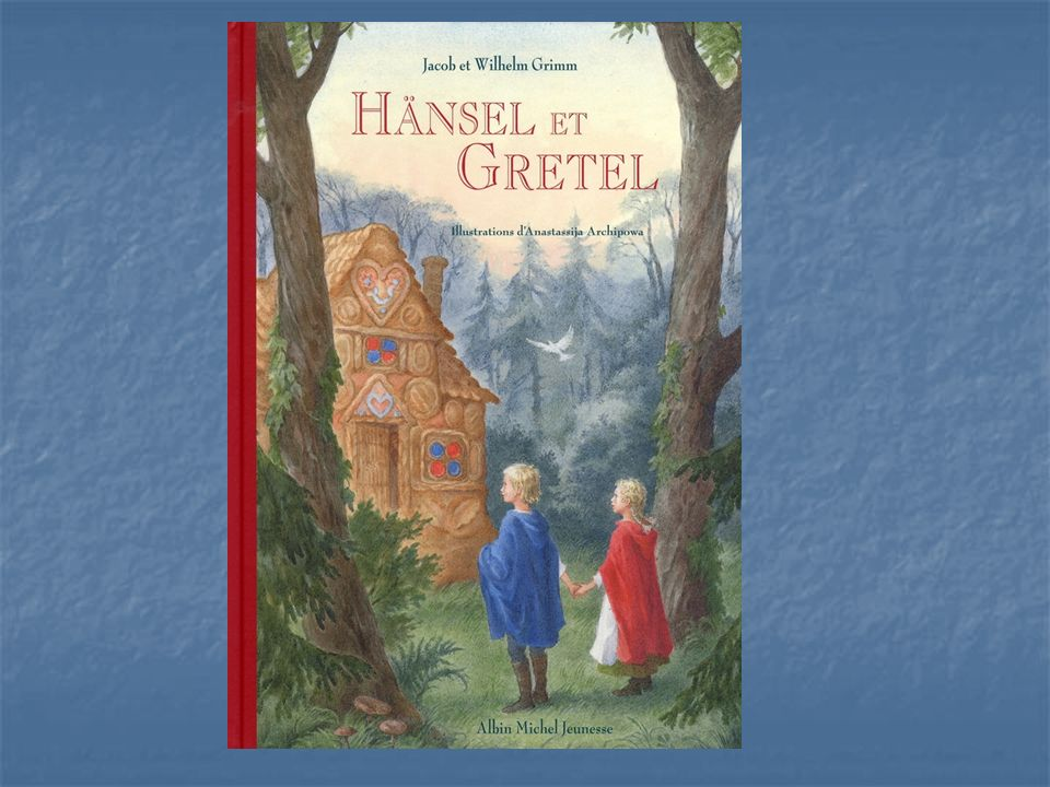 « Un des plus célèbres contes des frères Grimm où se mêlent, dans une forêt immense, une marâtre, une sorcière, une maisonnette à croquer, des perles et des pierres précieuses, et le bonheur retrouvé »
