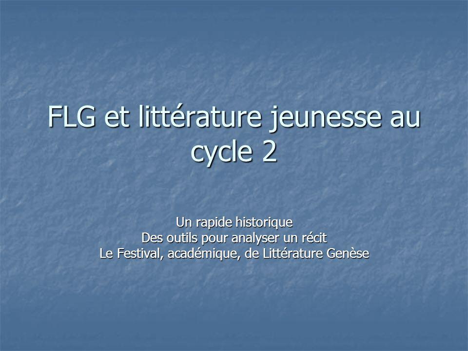 FLG et littérature jeunesse au cycle 2