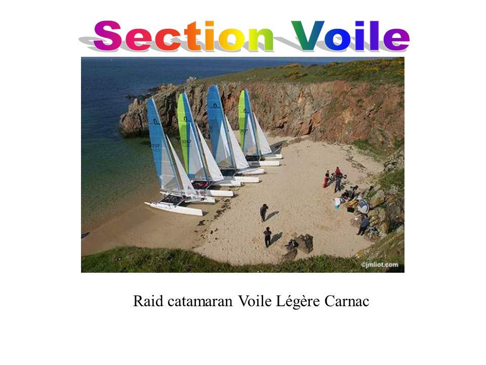 Raid catamaran Voile Légère Carnac