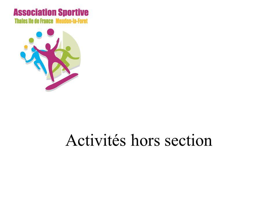 Activités hors section