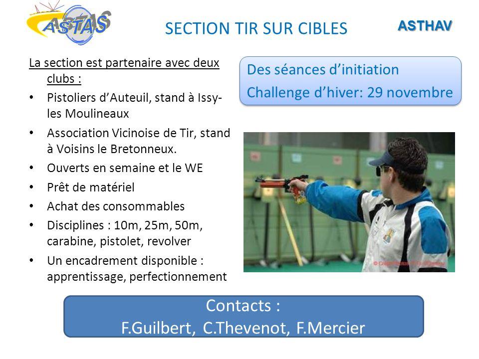 F.Guilbert, C.Thevenot, F.Mercier