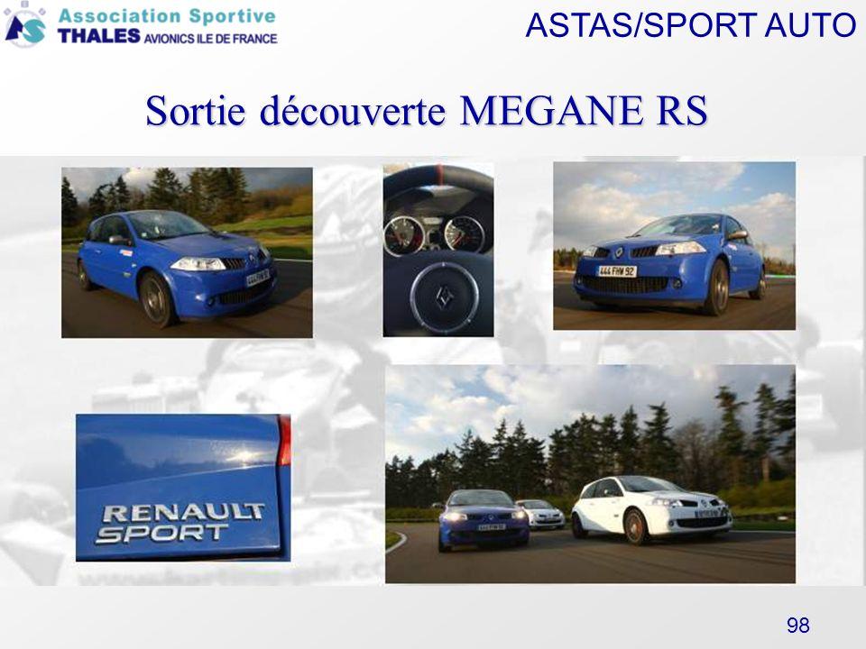 Sortie découverte MEGANE RS