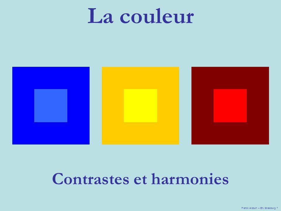 Contrastes et harmonies