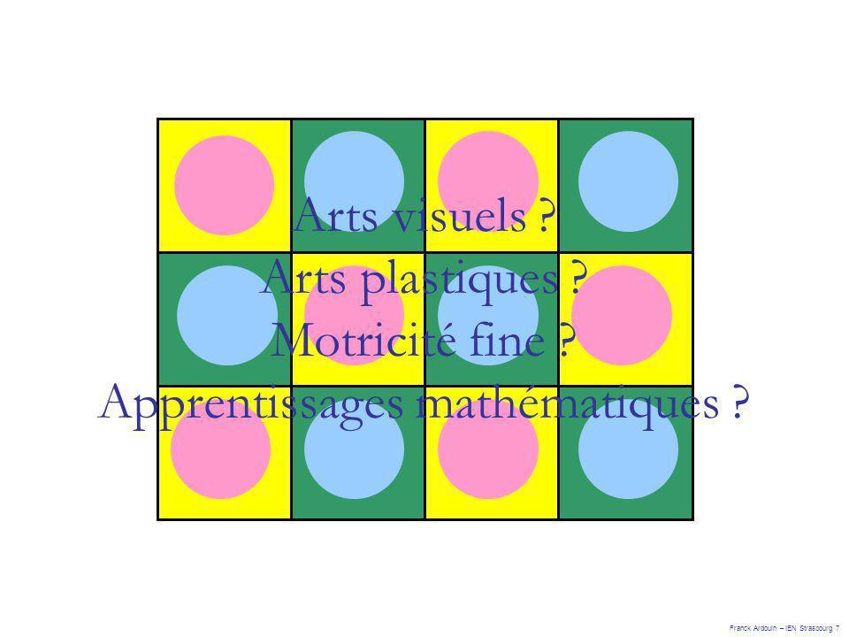 Apprentissages mathématiques