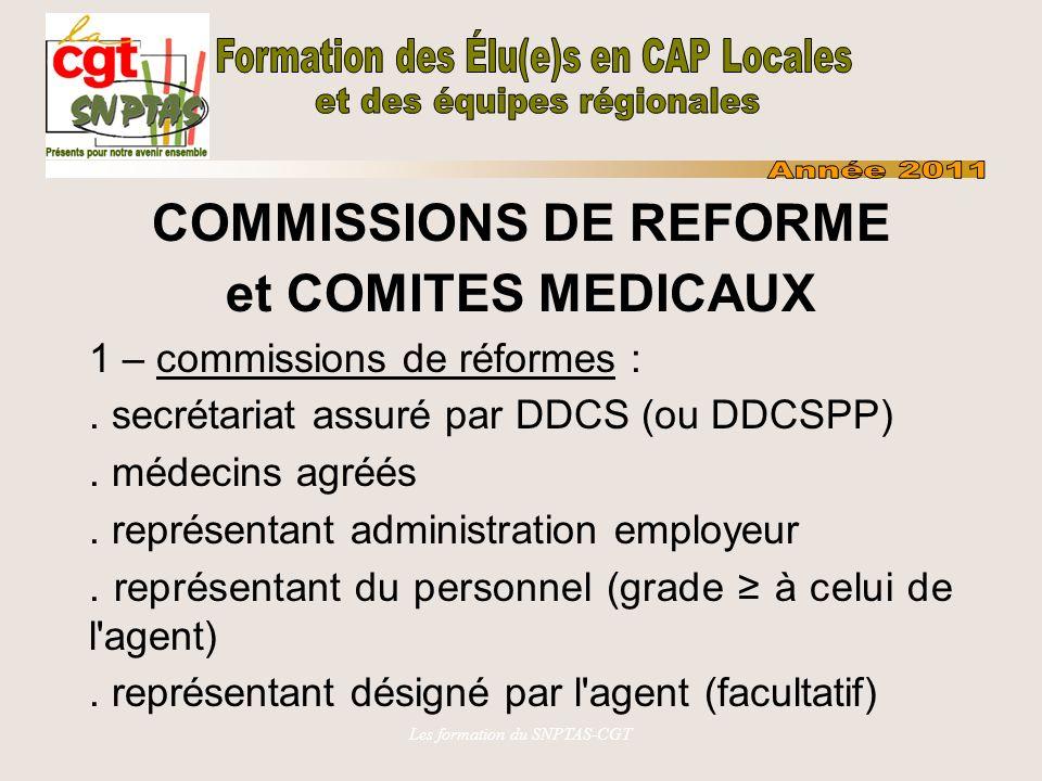 COMMISSIONS DE REFORME