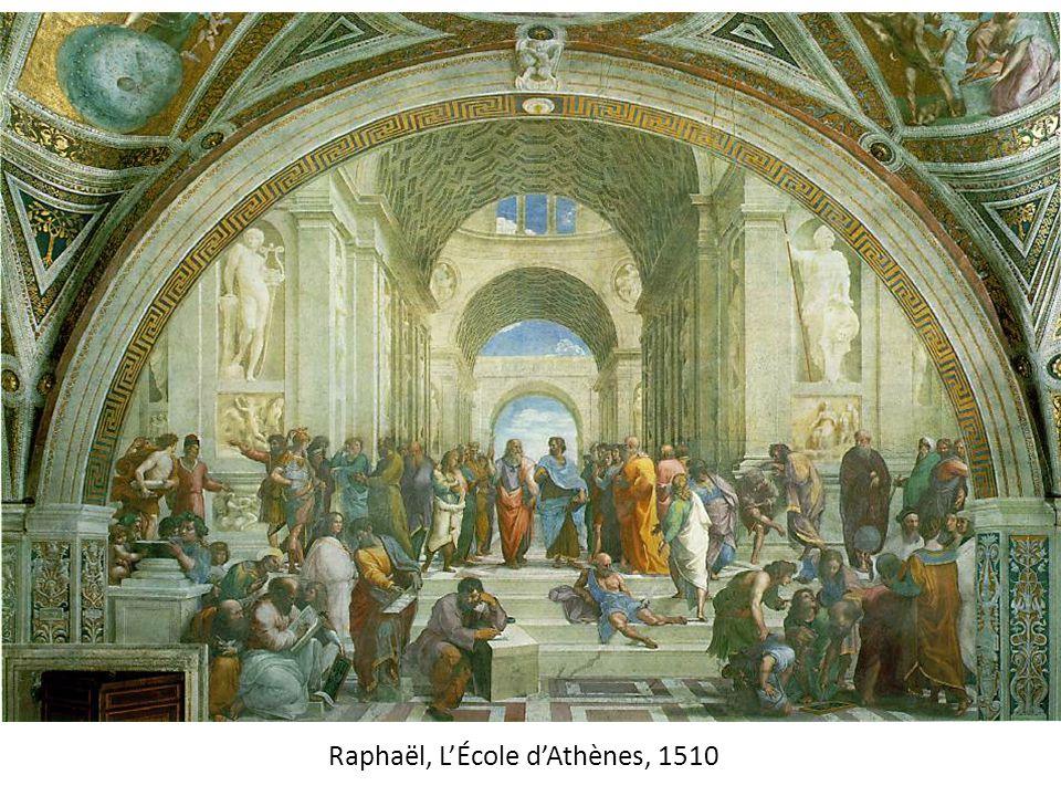 Raphaël, L'École d'Athènes, 1510