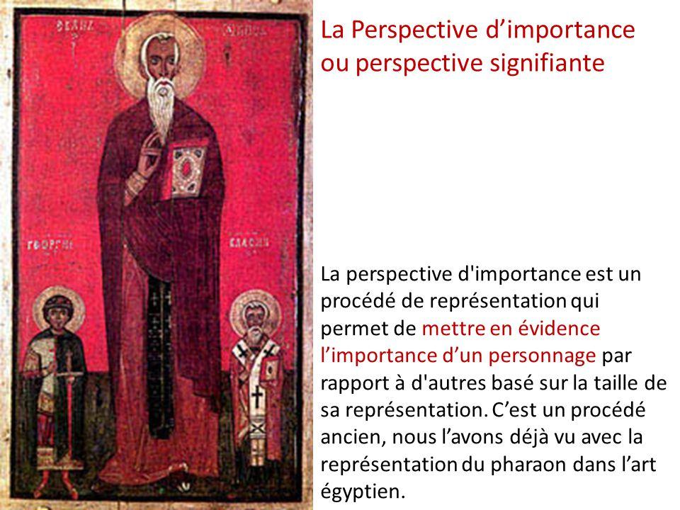 La Perspective d'importance ou perspective signifiante