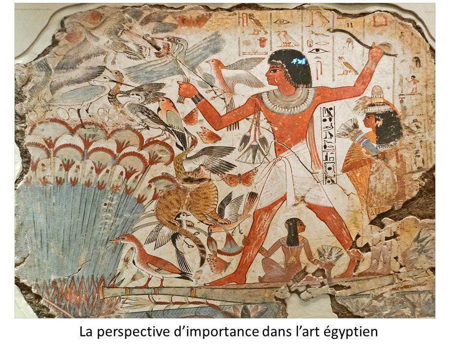 La perspective d'importance dans l'art égyptien