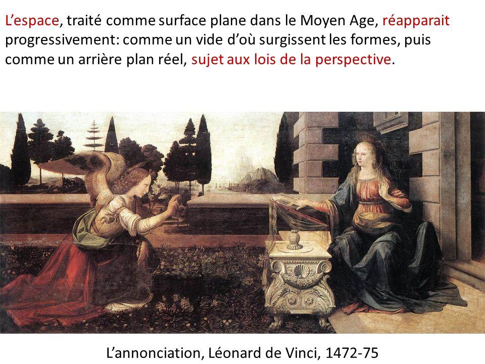 L'annonciation, Léonard de Vinci, 1472-75