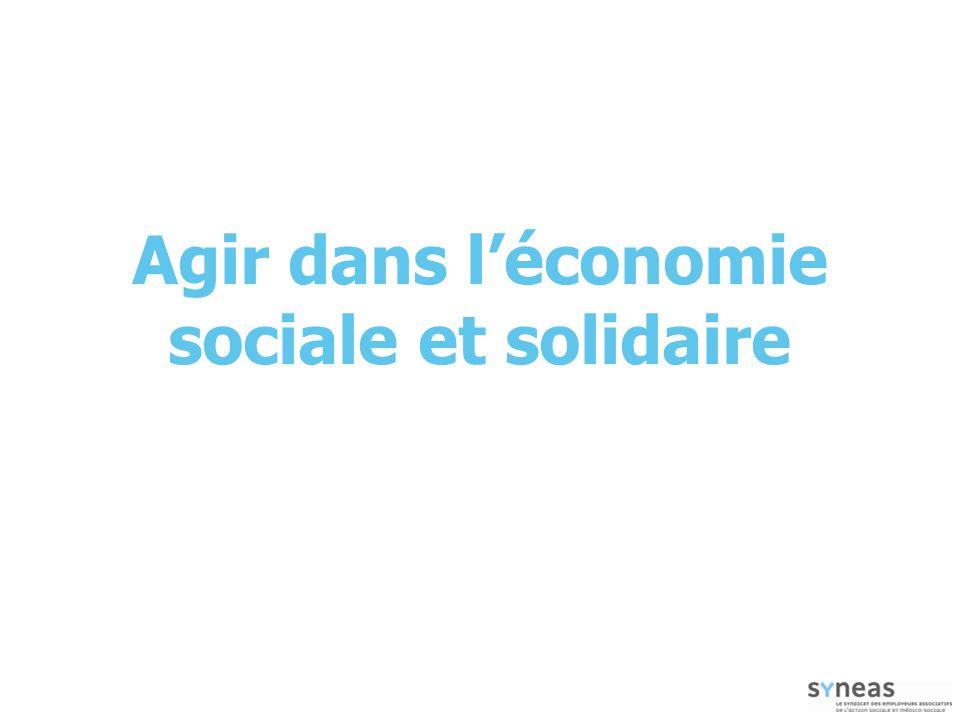 Agir dans l'économie sociale et solidaire