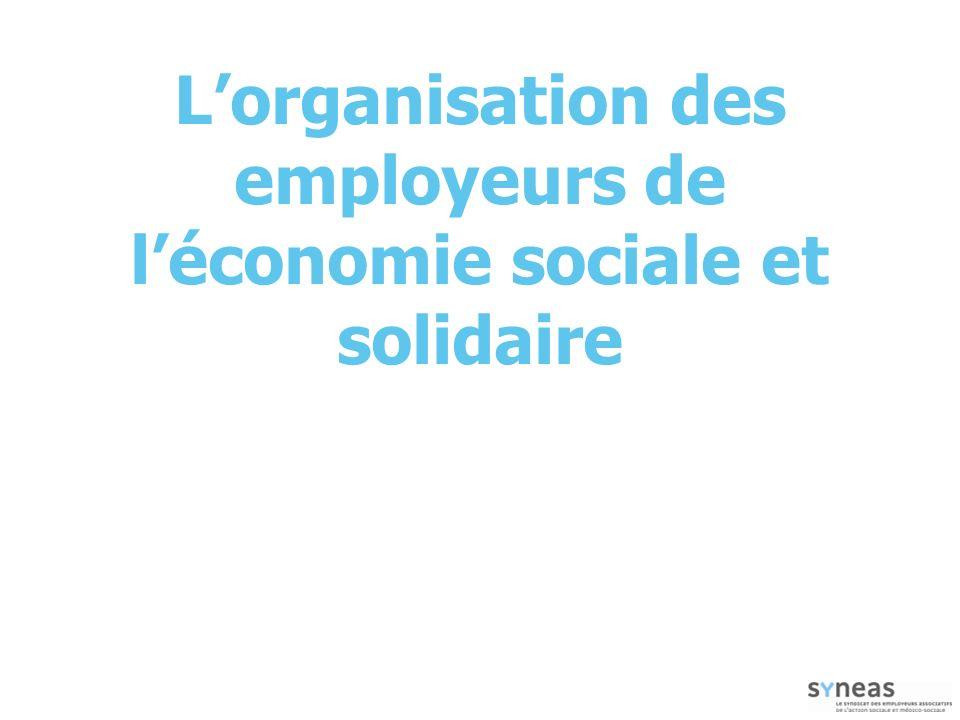 L'organisation des employeurs de l'économie sociale et solidaire