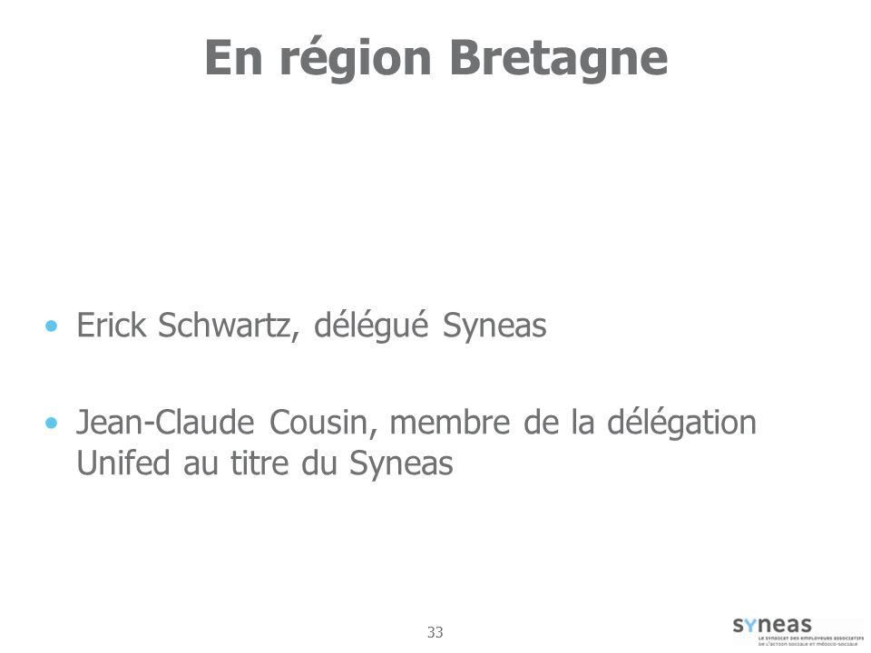 En région Bretagne Erick Schwartz, délégué Syneas