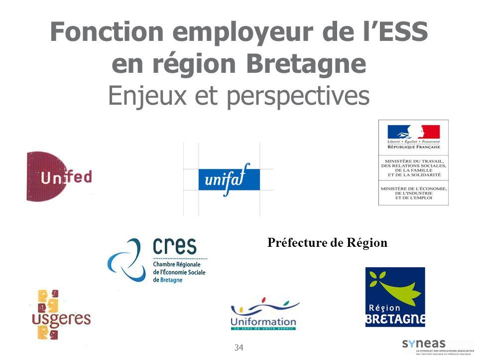 Fonction employeur de l'ESS en région Bretagne Enjeux et perspectives