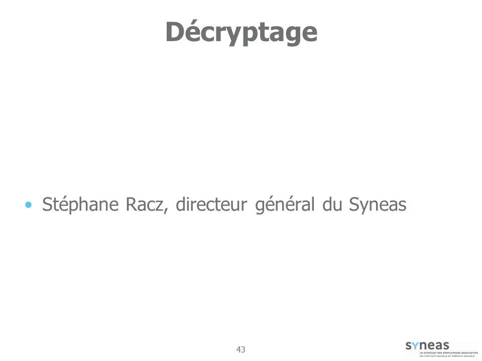 Décryptage Stéphane Racz, directeur général du Syneas 43