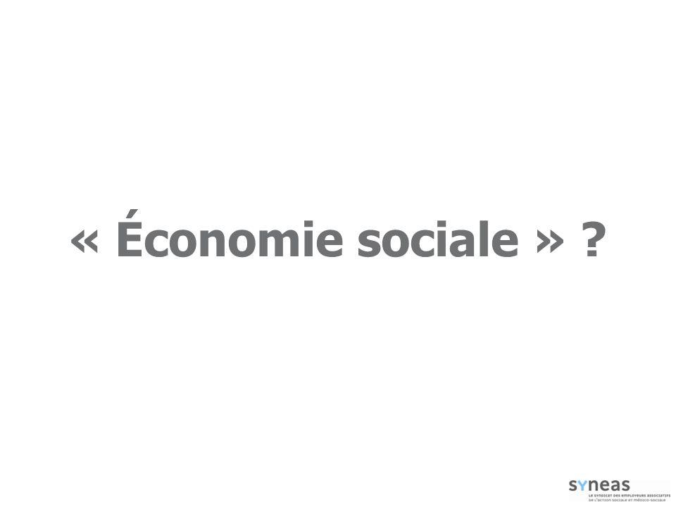 « Économie sociale »