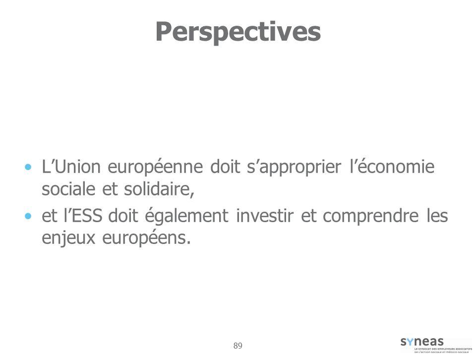 Perspectives L'Union européenne doit s'approprier l'économie sociale et solidaire,