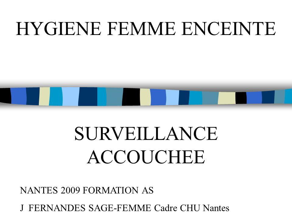 HYGIENE FEMME ENCEINTE
