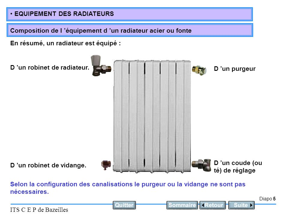 le robinet de radiateur ppt video online t l charger. Black Bedroom Furniture Sets. Home Design Ideas