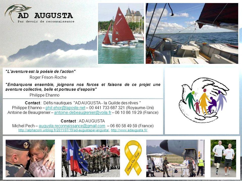 Contact : Défis nautiques AD AUGUSTA - la Guilde des rêves