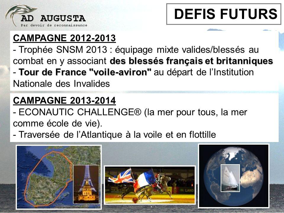 DEFIS FUTURS CAMPAGNE 2012-2013