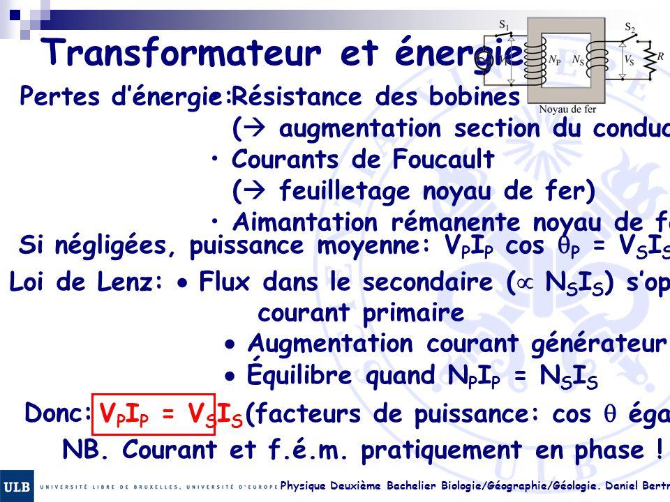 Transformateur et énergie