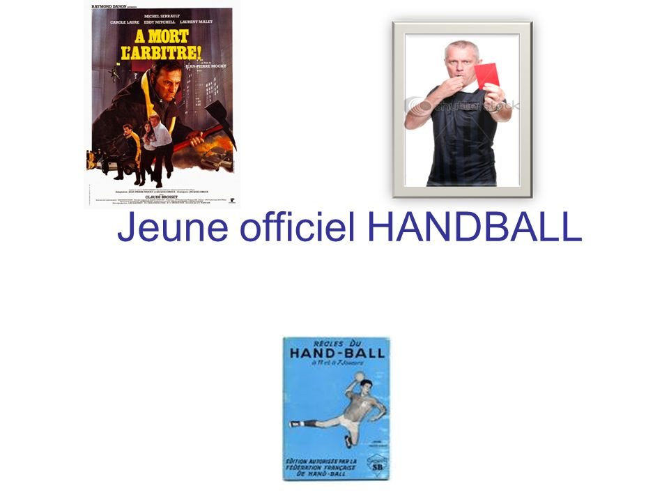 Jeune officiel HANDBALL