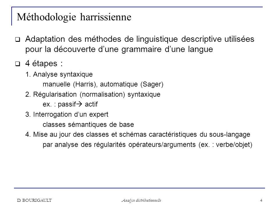 Méthodologie harrissienne