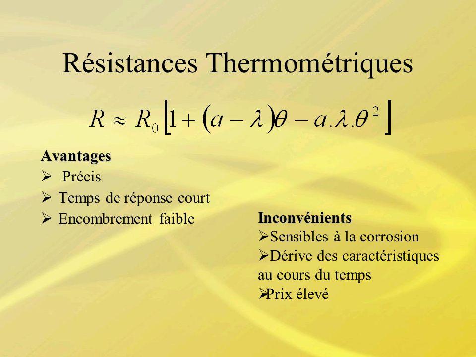 Résistances Thermométriques