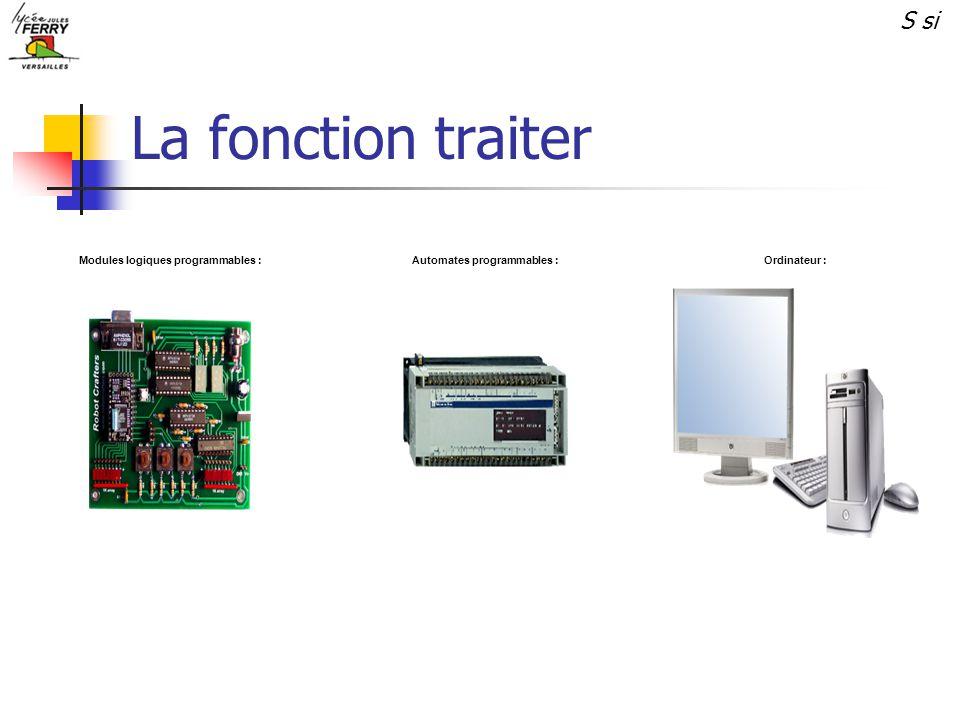 Modules logiques programmables : Automates programmables :