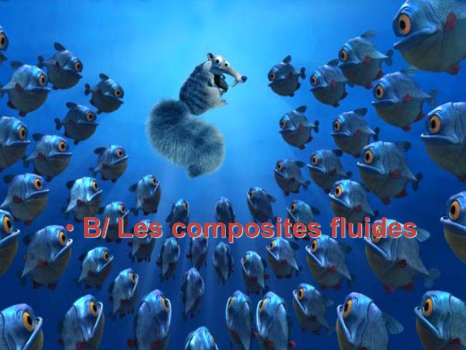 B/ Les composites fluides