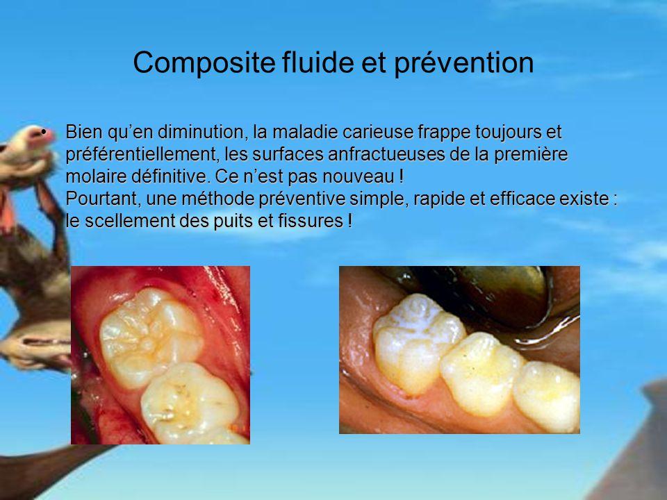 Composite fluide et prévention