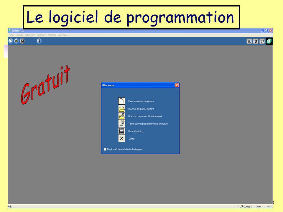 Le logiciel de programmation