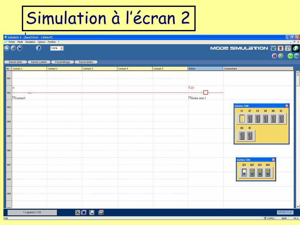 Simulation à l'écran 2 Académile de Lille Luc DEGUILLAGE